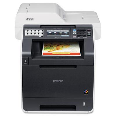 Máy in Brother MFC 9970CDW, Duplex, Wifi, In, Scan, Copy, Fax
