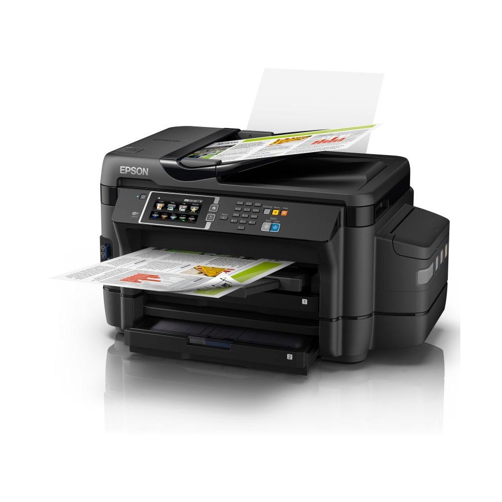 Máy in Epson L1455 khổ A3, In, Scan, Copy, Wifi, Fax với ADF, tiếp mực ngoài chính hãng