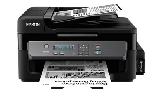Máy in Epson M200, In, Scan, Copy, In phun trắng đen, tiếp mực ngoài chính hãng