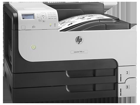 Máy in HP LaserJet Enterprise M712dn, Laser trắng đen khổ A3 (CF236A)