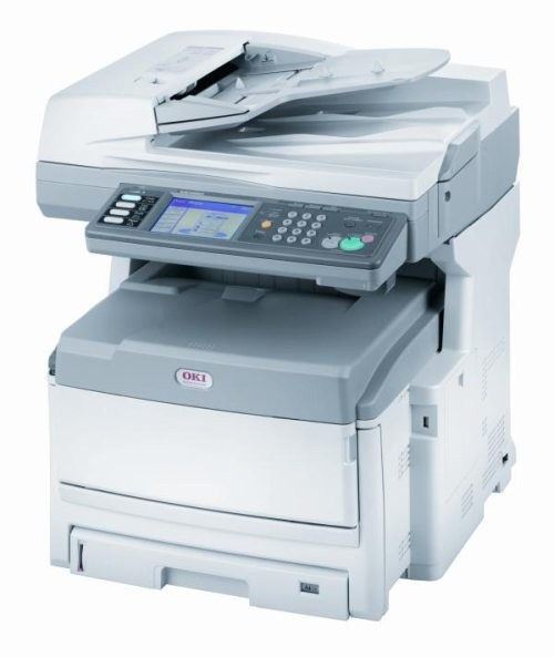 Máy in Oki OKI ES8460MFP In, Scan, Copy, Fax A3, Network