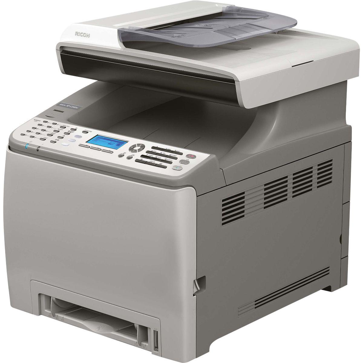 Máy in Ricoh SP C240SF, In, Scan, Copy, Fax, Laser màu