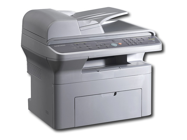 Máy in Samsung SCX 4725FN, In, Scan, Copy, Fax, Network, Laser trắng đen