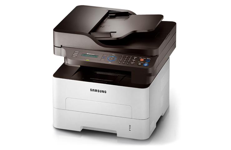 Máy in Samsung SL M2675F, In, Scan, Copy, Fax, Laser trắng đen